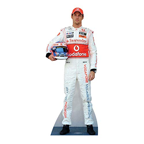 Star Cutouts Cut Out of Jenson Button from Star Cutouts Ltd