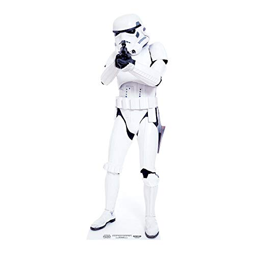 Official Star Cutouts Star Wars Lifesize Cardboard Cut Out of Stormtrooper from Star Cutouts Ltd