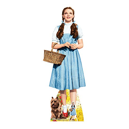 "STAR CUTOUTS ""Dorothy Follow The Yellow Brick Road The Wizard of Oz Cardboard Cut Out with Mini Table Top, Multi-Colour from STAR CUTOUTS"