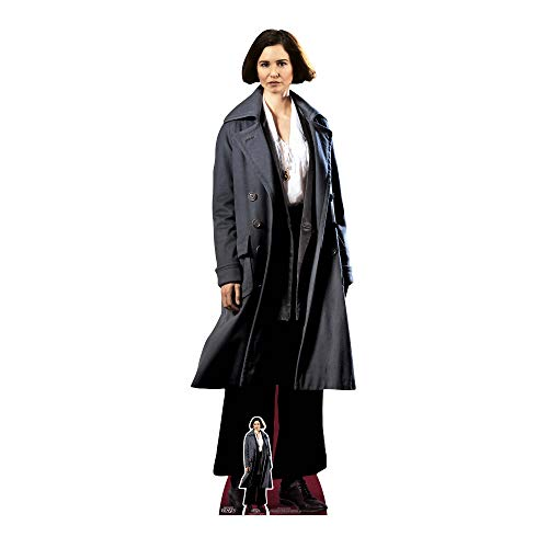 STAR CUTOUTS Porpentina Goldstein Fantastic Beasts Life Size Cardboard, Multi-Colour from STAR CUTOUTS