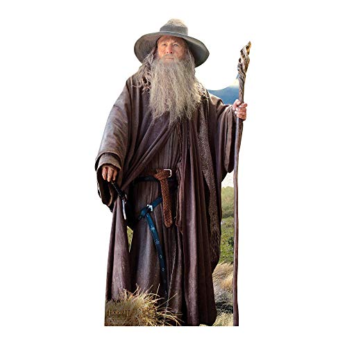 Star Cutouts SC667 Gandalf The Lord of the Rings Cardboard Cut out from Star Cutouts Ltd