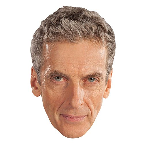 "Star Cutouts SM189 ""The Twelfth Doctor Who Peter Capaldi"" Mask from Star Cutouts Ltd"