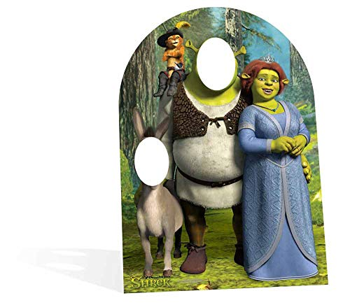 Star Cutouts - Stsc821 - Dreamworks Shrek Giant Stand-In Photo Prop for Children from Star Cutouts Ltd
