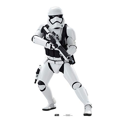 Official Star Cutouts Star Wars Stormtrooper (SW:TFA) Lifesize Cardboard Cutout from STAR CUTOUTS