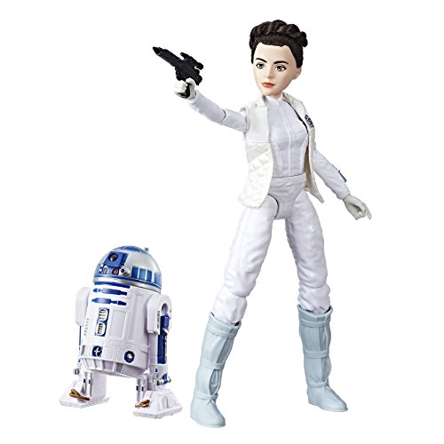 Star Wars Forces of Destiny Princess Leia Organa and R2-D2 Adventure Figure Playset from Star Wars