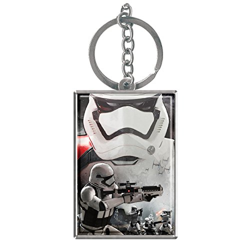 Star Wars Episode 7 Stormtrooper Lenticular Rectangular Keyring from Star Wars