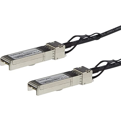 StarTech Juniper EX-SFP-10GE-DAC-5M Compatible 5 m 10Gbe SFP+ to SFP+ Cable - Black from StarTech