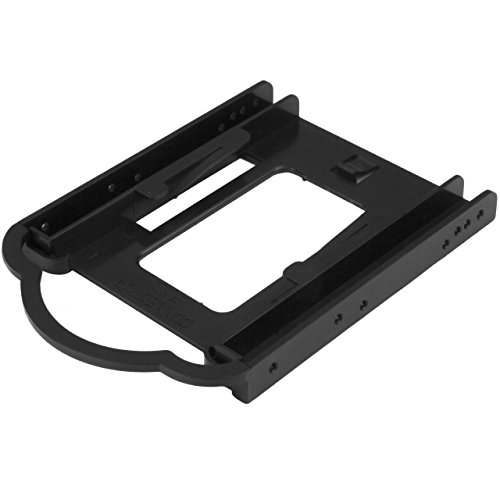 StarTech 2.5-Inch SSD/HDD Mounting Bracket for 3.5-Inch Drive Bay from StarTech