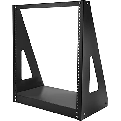 "StarTech.com 12U Heavy Duty 2 Post Open Frame Network Rack - 350lbs - 19"" Free Standing Desktop Rack for Computer, AV, Media, IT Equipment (2POSTRACK12) from StarTech.com"