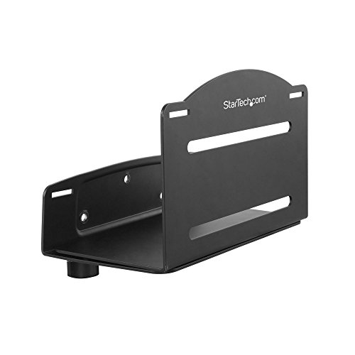 StarTech.com Wall Mount CPU Holder - Adjustable Width 4.8in to 8.3in - Metal - Computer Tower Mounting Bracket for Desktop PC (CPUWALLMNT) from StarTech.com