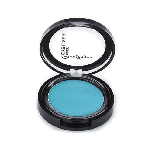 Turquoise Cake eye liner. A wet and dry use pressed powder cake eye liner. from Stargazer