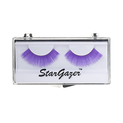 Stargazer False Eye Lashes style 10, synthetic lash pair includes glue. from Stargazer