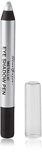 Stargazer Metallic Eye Shadow Pen, Silver. Blendable Soft Strong Metallic Eye Colour from Stargazer