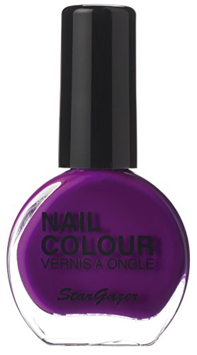 Neon Violet UV reactive nail polish. Bright nail polish that glows under uv neon light. from Stargazer