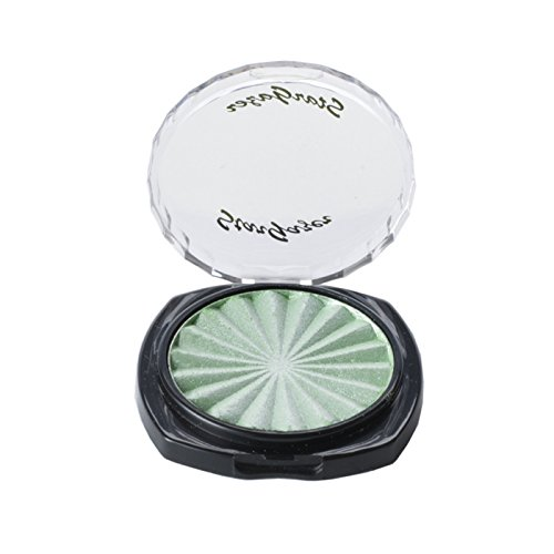 Star Pearl Eye Shadow Envy Green. A High Shimmer pearl shadow that can be used as a highlighter. from Stargazer