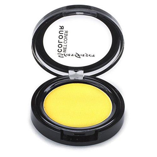 Stargazer Wet Cover Colour, Yellow. Wet and dry application face and body paint make up from Stargazer