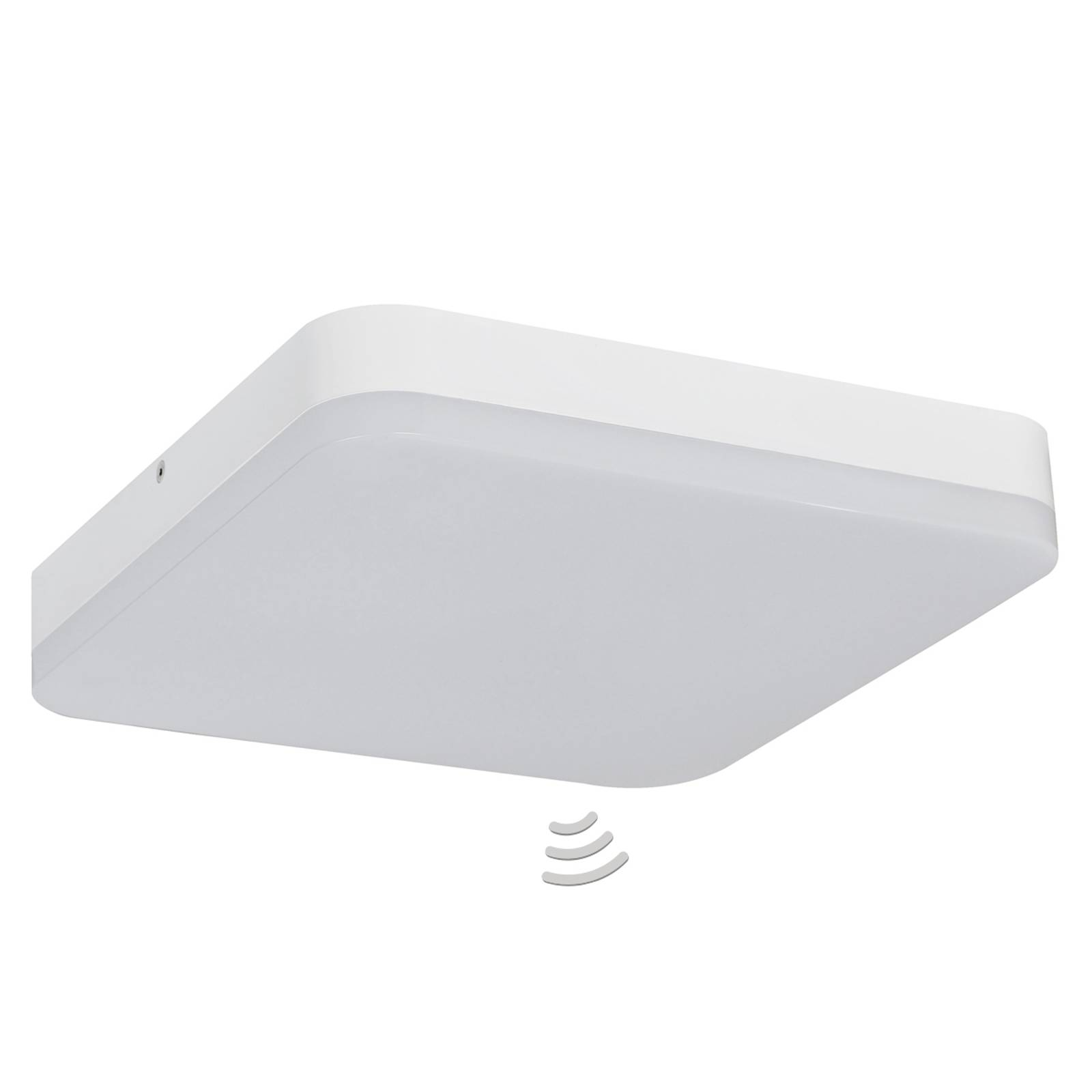With sensor - LED ceiling lamp Office Square from Starlicht