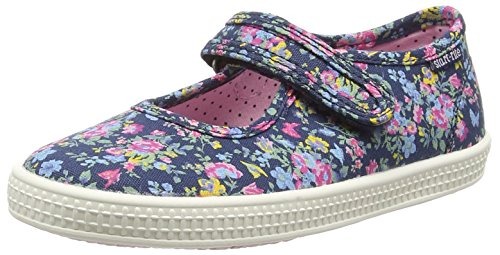 Start-rite Posy, Girls' Boat Shoes, Multicolor (Navy Floral), 12 Child UK (30/31 EU) from Start-rite