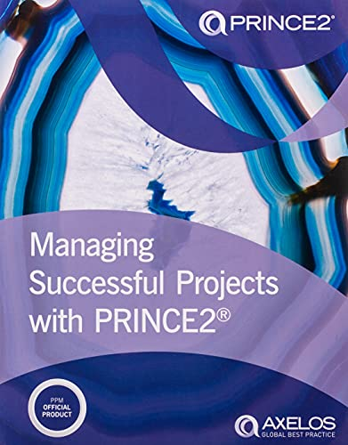Managing successful projects with PRINCE2 from Stationery Office