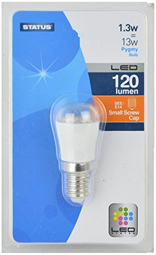 Status 1.3SLPSESB15 E14 1.3 W LED Light Bulbs, Clear from Status