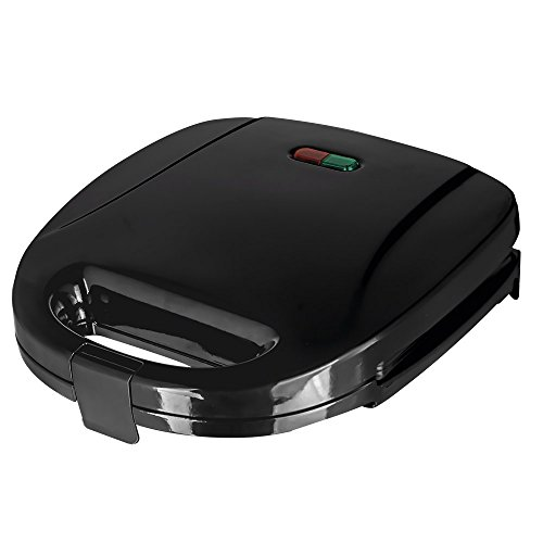 Status ROCKFORDST1PKB4 Rockford 2-Slice Non-Stick Sandwich Toaster, 750 W, Gloss Black from Status