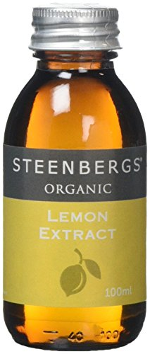 Organic Lemon Extract 100ml from Steenbergs