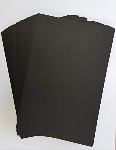 "5"" x 7"" Black Card Stock X 50 Sheets - Stella Crafts from Stella Crafts"