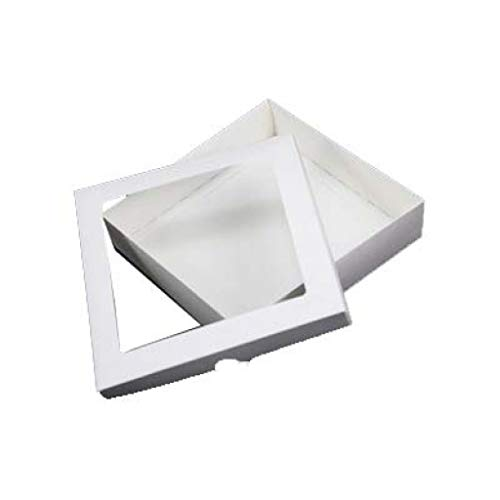 "8""x8"" White Aperture Greeting Card Boxes X 5 Per Pack, Gift Boxes from Stella Crafts"