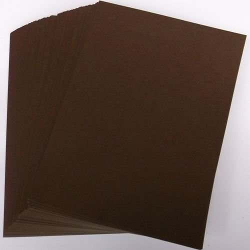 A4 Brown Card Stock x 20 Sheets, 240gsm (297mm x 210mm) - Stella Crafts from Stella Crafts