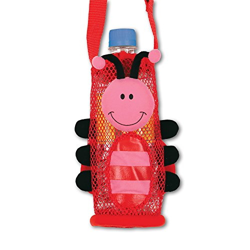 Stephen Joseph SJ670160 Children's Ladybug Bottle Holder, Polyester, Red from Stephen Joseph