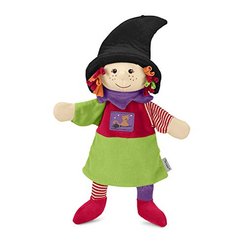 Sterntaler 3601816 Hand puppet witch, Colourful from Sterntaler