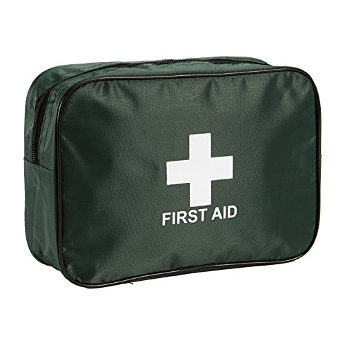 STEROPLAST EMPTY REFILLABLE FIRST AID KIT HOME OFFICE WORK SPORTS SCHOOL LARGE TRAVEL BAG from Steroplast