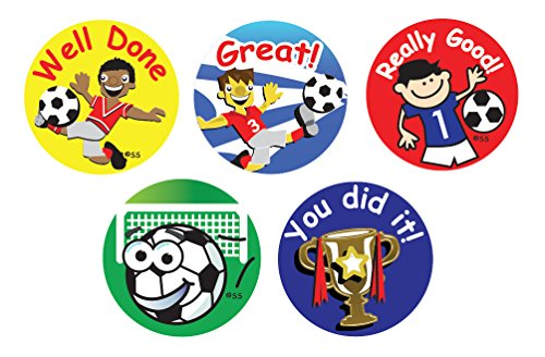 Sticker Solutions Football Themed Reward Stickers (Pack of 180) from Sticker Solutions