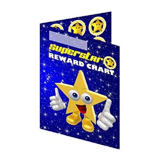 Classroom Pocket Superstar Reward Charts Incentive Pack - suitable for up to 30mm stickers (100 Charts) from Sticker Stocker