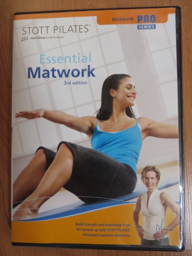 Stott Pilates: Essential Matwork 3rd Edition from Stott Pilates