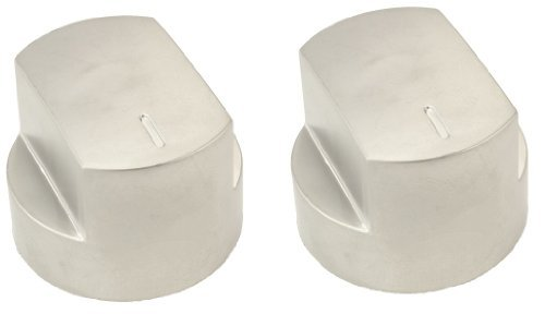 Stoves Main Oven Hob Gas Temperature Control Knobs, Silver (Pack of 2) from Stoves