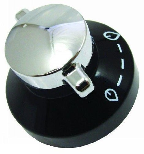 Stoves Silver & Black Hob Control Knob from Stoves
