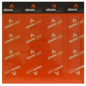 Aarrow Acorn 4 Stove Glass (170mm x 170mm-Plain) from StovesnBits