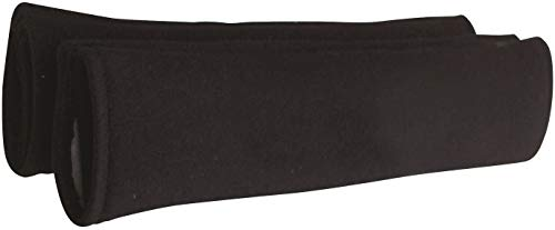 Streetwize Seat Belt Comfort Harness Pads - Plain Black Pair from Streetwize