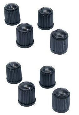Tyre Valve Dust Caps x8 (2 Packs Of 4) from eMarkooz