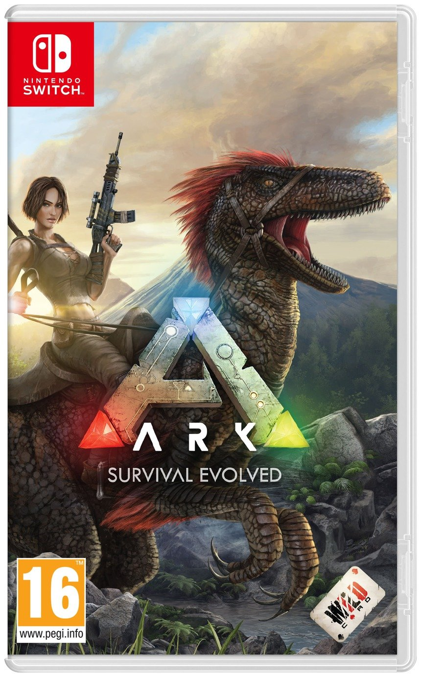 ARK: Survival Evolved Nintendo Switch Game from Studio Wildcard