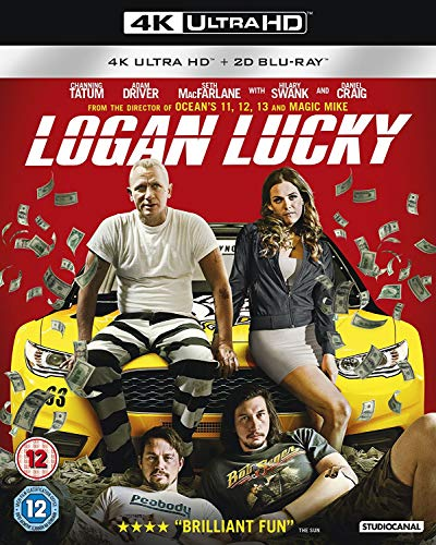 Logan Lucky 4K UHD [Blu-ray] from Studiocanal