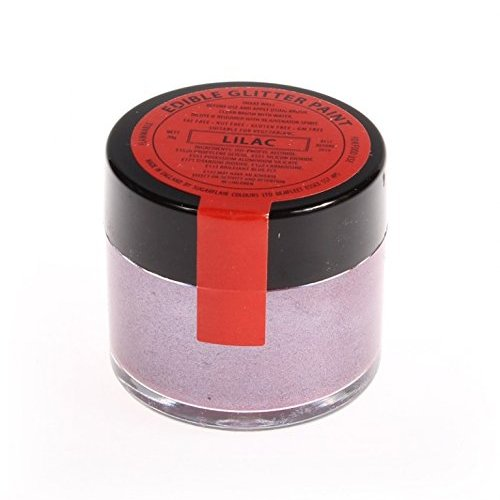 3 x Sugarflair 20g LILAC Edible Glitter Paint Cake Icing Sugarpaste Decorating from Sugarflair