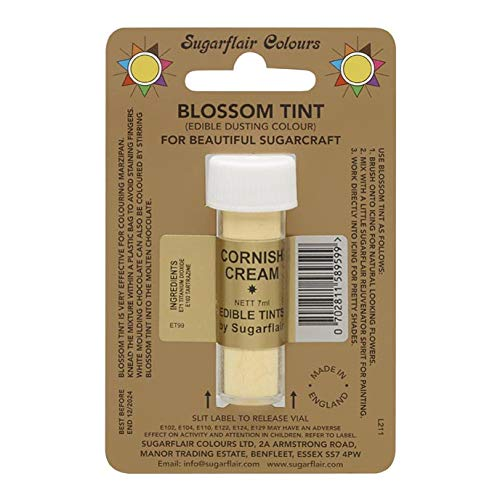 Sugarflair Blosom Tint Edible Dusting Powder - Cornish Cream from Sugarflair