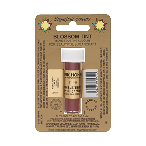 Sugarflair Blossom Tint Edible Dust Food Colouring Sugarcraft Powder Colour – 7ml – Skintone from Sugarflair