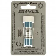Sugarflair TWILIGHT BLUE Edible Lustre Dust Powder - Cake decorating shimmer from Sugarflair