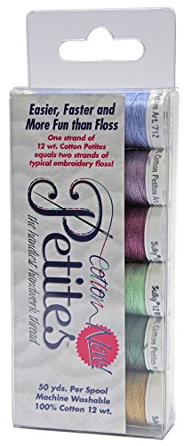 Sulky Cotton Sulky Sampler 12wt Petites-Rosewood Manor Assortment from Sulky