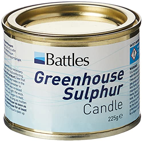 Battles Greenhouse Sulpur Candle, 225 g from Sulphur