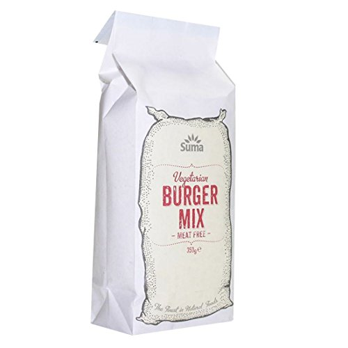 Suma Prepacks | Burger Mix - Vegetarian | 2 x 350g from Suma Prepacks