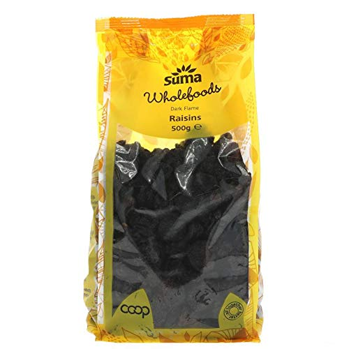 Suma Prepacks | Raisins - Dark Flame | 1 x 500g from Suma Prepacks